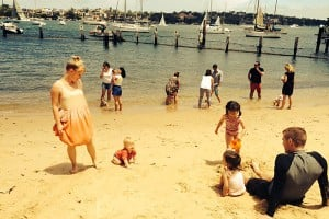 Fun in the sun at Greenwich Baths